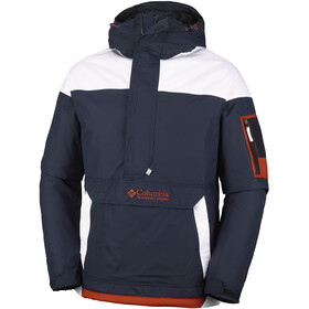 Columbia Challenger Pullover Men Collegiate Navy/White